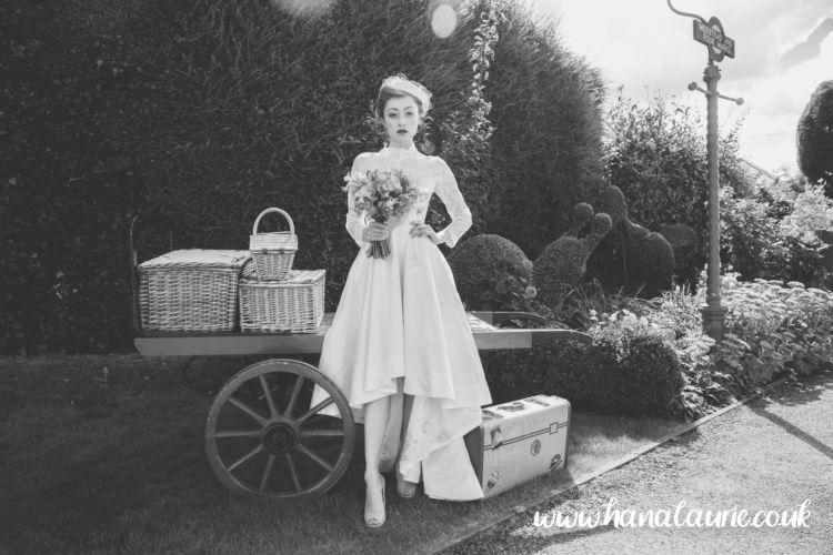 high low alternative wedding dress