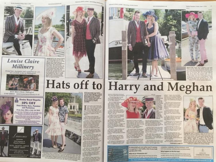 Newspaper Article: The Henley Standard