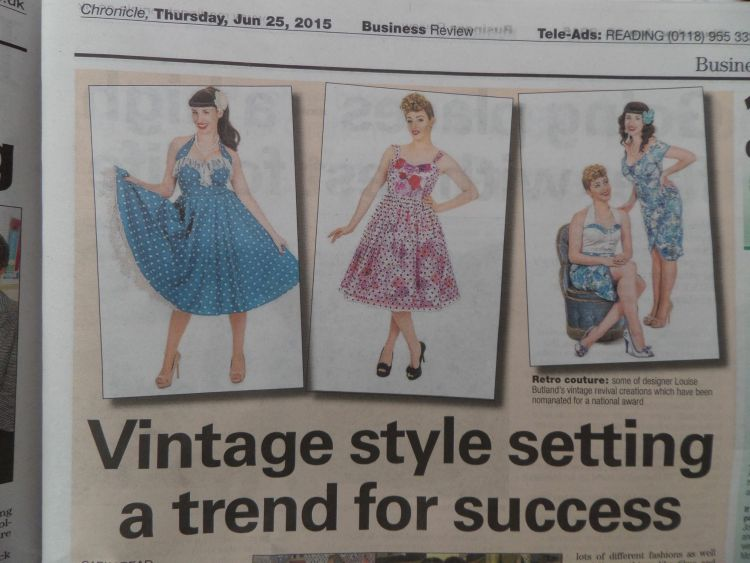 Business Review in The Reading Chronicle 2015