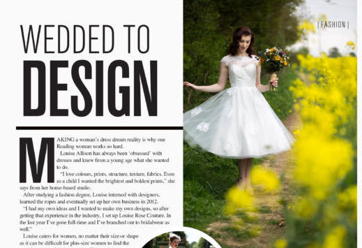 Reading Magazine Louise Rose Couture