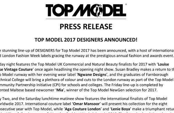 Top Model UK