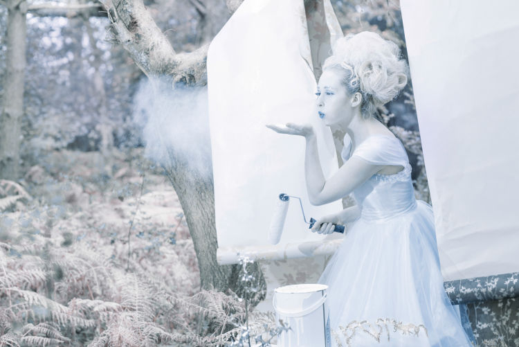 Photoshoot: Snow Queen with a Difference