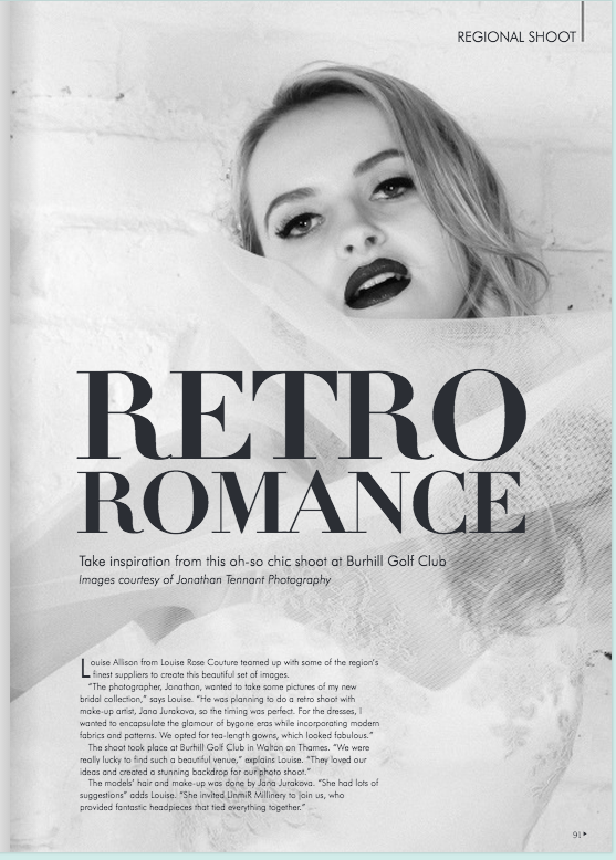 Magazine Feature: Your Surrey Wedding