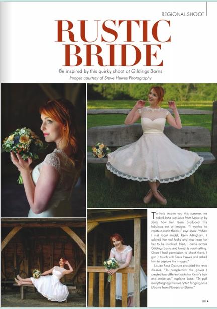 rustic bridal photoshoot