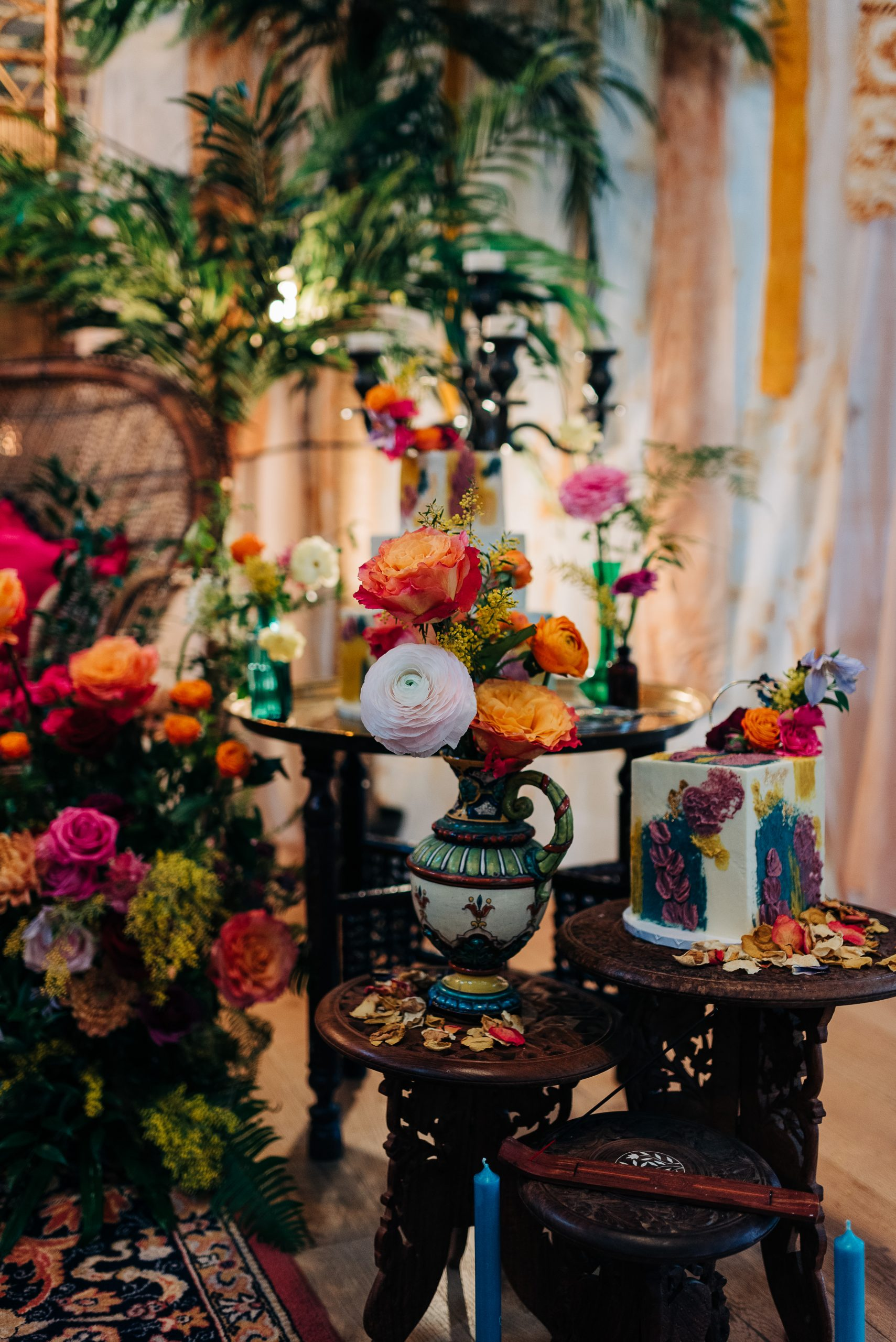 Moroccan inspired wedding