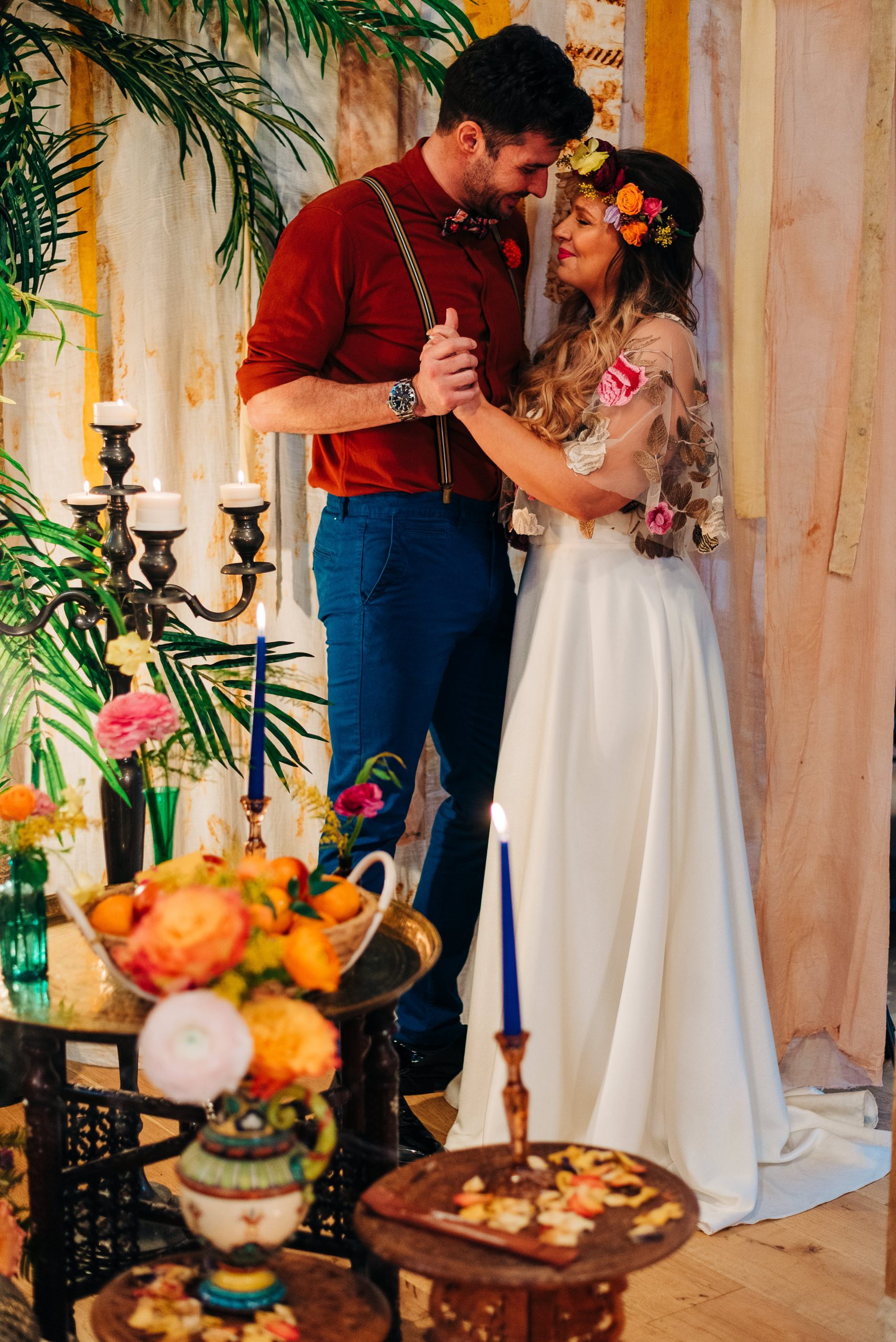 Moroccan styled wedding