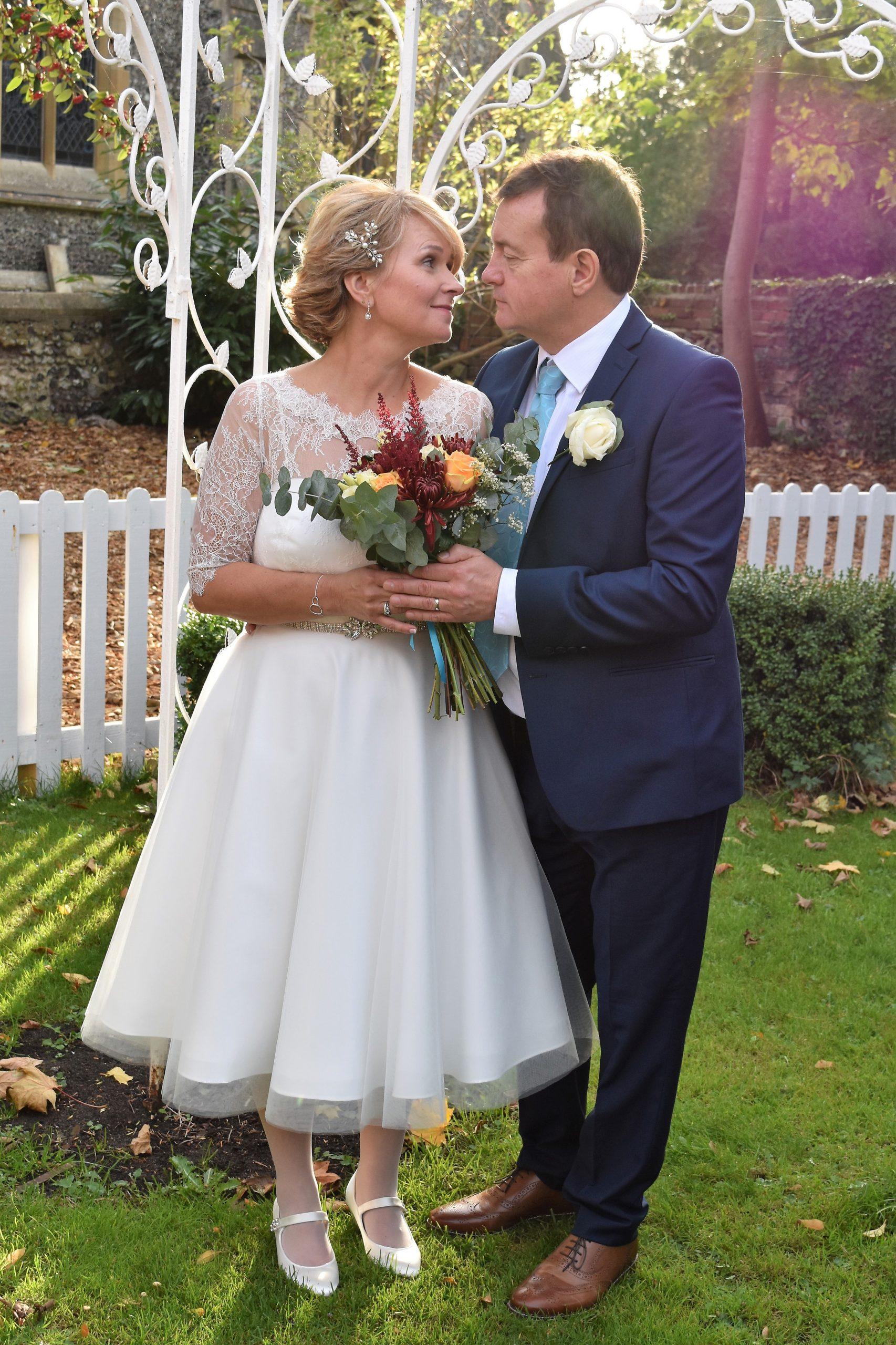 tea length bridal