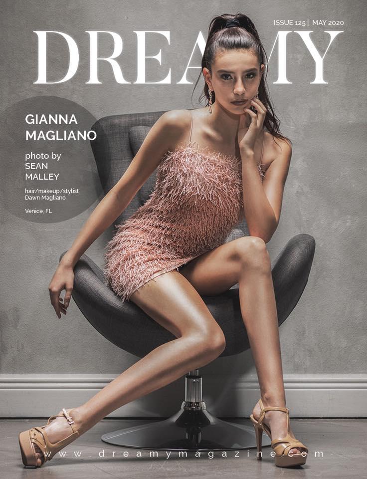 Dreamy magazine cover